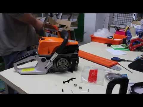 Como montar y arrancar motosierra Linea HD EK