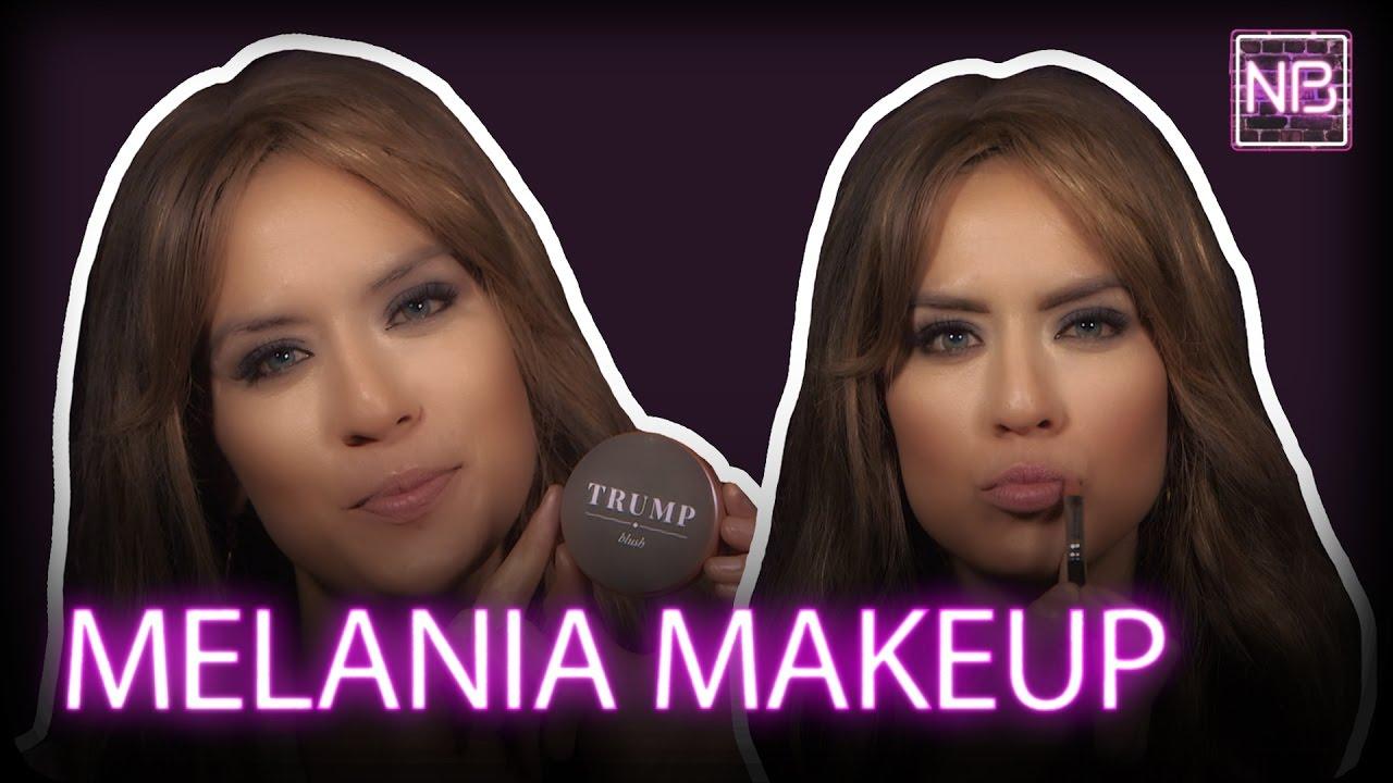 Melania Trump Makeup Tutorial | Newsbroke (AJ+) - YouTube