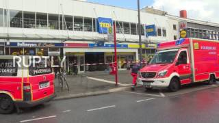 Germany: One killed, several injured in knife attack at Hamburg supermarket
