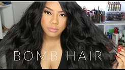 Bomb Virgin Indian Hair!!! Shesentials Hair Review