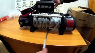 Холостая размотка троса Лебедка Runva 9500 lbs. редуктор 230:1(Электрическая лебедка 12V Runva 9500 (4309 кг.) Самая легкая холостая размотка из всех лебедок, за исключением верти..., 2015-12-29T14:25:04.000Z)
