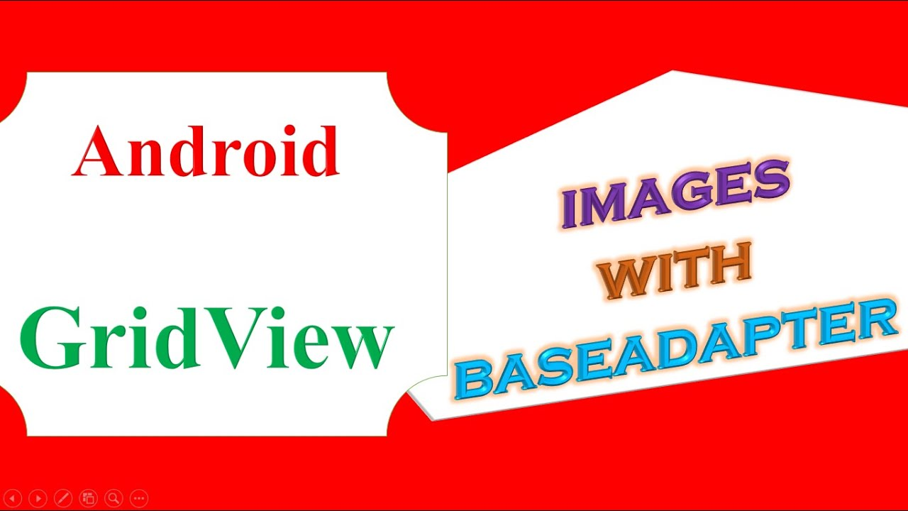 Android GridView -Dynamic Images With BaseAdapter