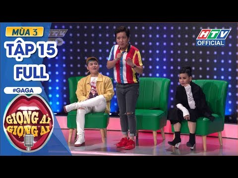 GIỌNG ẢI GIỌNG AI| Cát Phượng-Kiều Minh Tuấn,Thanh Duy-Đại Nhân lầy lội ở tập cuối|GAGA #15 mùa 3