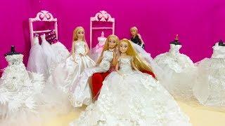 باربي روبنزل  تختار فستان الزفاف  استعد دا ليوم الزفاف ترقبو هذا اليوم