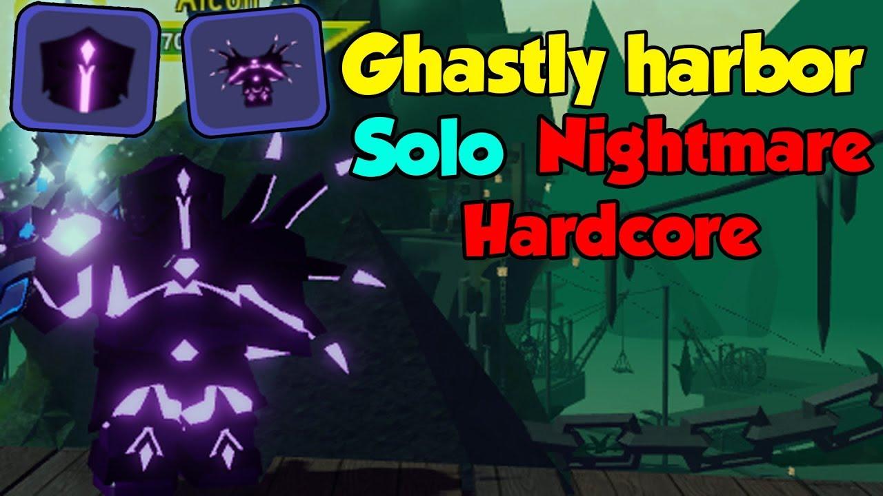 Ghastly Harbor Nightmare Hardcore New Best Armor Roblox