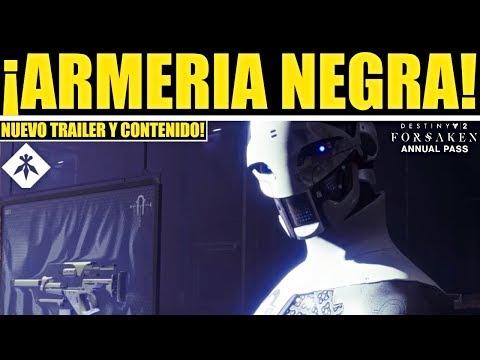 Destiny 2 - Armeria Negra! Nuevo Contenido! Trailer! Reinicio! Ocasos! Forja Volundr! Eververso! thumbnail