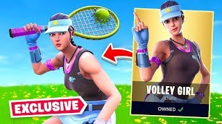 Fortnite Gave Me This *NEW* Skin EARLY! (Tennis Skin)