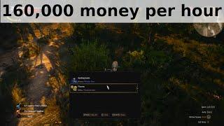 Witcher 3 - 160,000 money per hour exploit