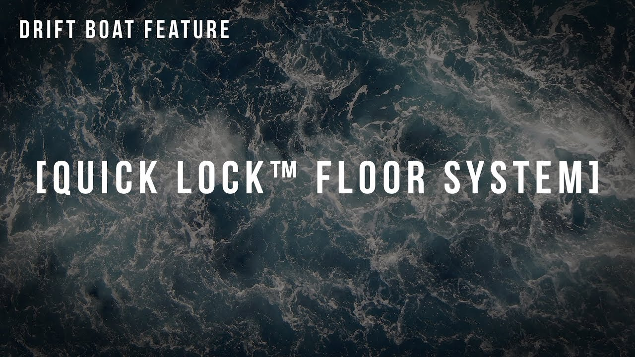 Pavati Marine Features: Quick Lock™ Floor System