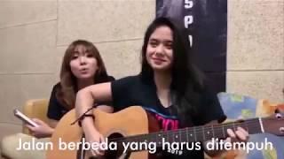 Lirik Perjalanan Berharga Gisella Anastasia Feat Tissabani