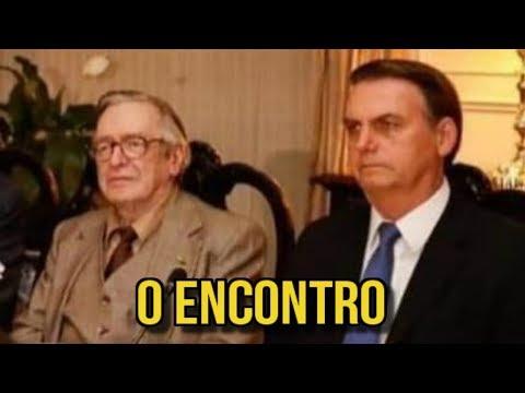BOLSONARO E OLAVO DE CARVALHO JUNTOS