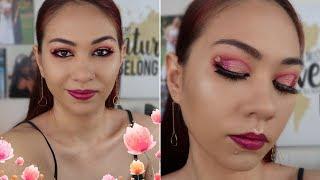 Lime Crime Venus XL Palette ll Pink Glitter Heart Makeup
