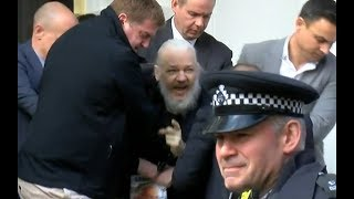 Assange arrested after seven years in Ecuadorean Embassy