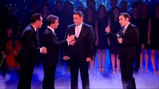 Richard and Adam - Britain s Got Talent  Final (Including egg throwing incident) - Full HD