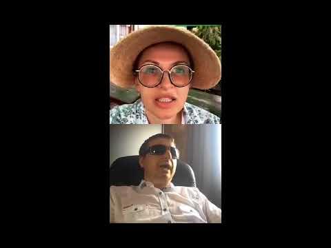Эвелина Блёданс в прямом эфире с Виктором Тартановым в Инстаграм/Говорим о песне «Я люблю жизнь»