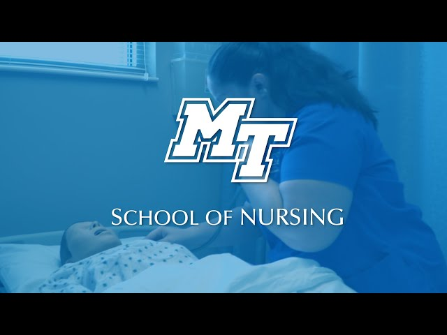 One of the Best in TN | MTSU School of Nursing