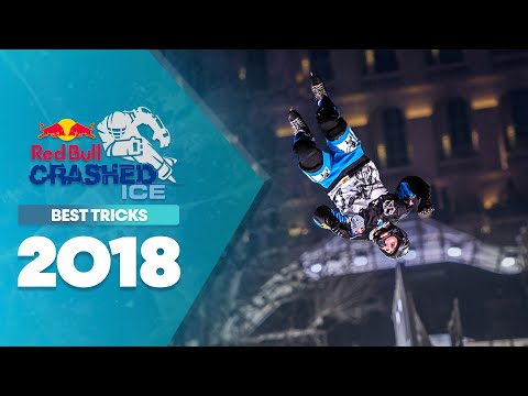 Best tricks and flips from Red Bull Crashed Ice.