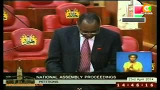 Kazungu Kambi Censure Motion Tabled In Parliament