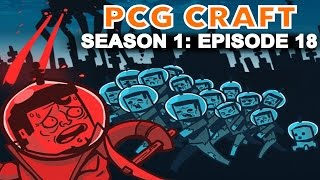PCG Craft - Season 1: Episode 18 - SKY BASEMENT! (Minecraft: Attack of the B-Team Mod Pack)