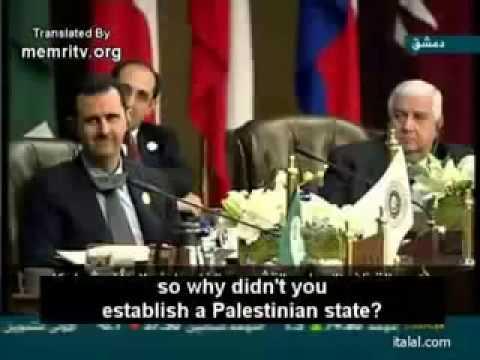 Mouammar  Gaddafi predicts his own death (Arab Summit 2008)