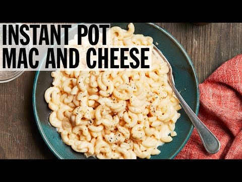 How to Make Instant Pot Mac and Cheese | Food Network