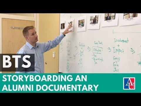 BTS - Storyboarding an Alumni Board Documentary for American University