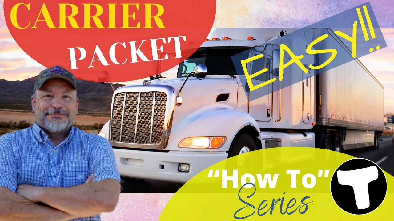 Download Trucking Carrier Packet | Set Up Your Load Broker Carrier Packet Fast