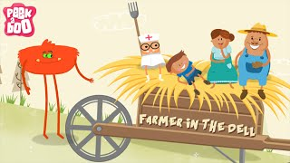 Farmer In The Dell Rhyme | Popular Nursery Rhyme For Kids | Peekaboo