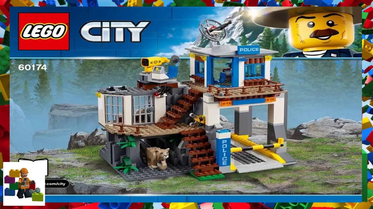 Lego Instructions City Mountain Police 60174 Mountain Police