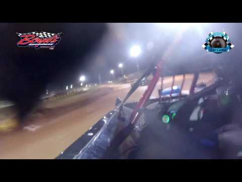 #87 Andrew Littleton - Sportsman Late Model - 3-31-17 Boyd's Speedway - In-Car Camera
