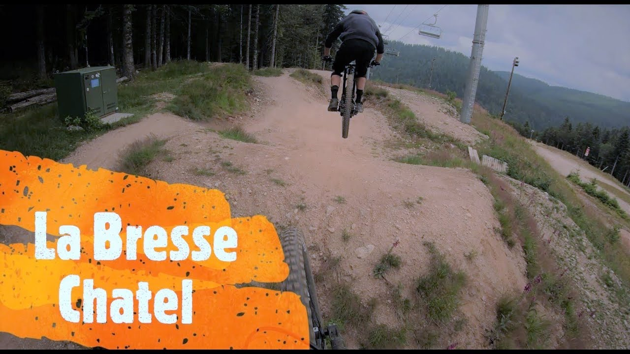 BikeTrip #1 - Bikepark La Bresse / Bikepark Chatel 2019 // SchussLine GoPro DJI