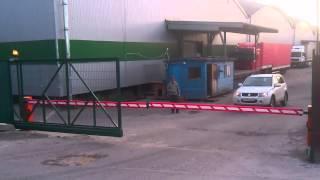 видео ОТКАТНЫЕ ВОРОТА ЖЕЛЕЗНОДОРОЖНЫЙ... Купить комплект откатных ворот у производителя в Московской Области