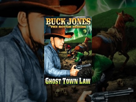 GHOST TOWN LAW | Full Length Western Movie | Buck Jones | English | HD | 720p