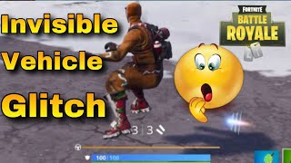 Guide Fortnite (PS4) Invisible Vehicle Glitch
