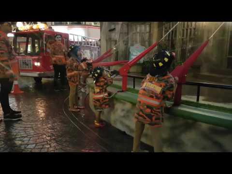 Malaysian fireman