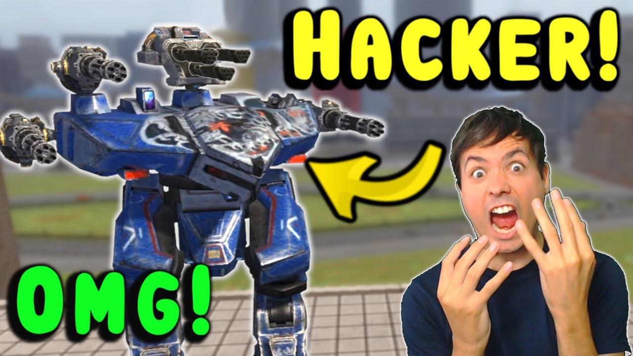 Download OMG! HACKER! Flying Leo War Robots Cheater Gameplay WR