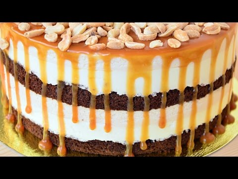 Торт нежный с манго