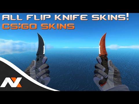 All Flip Knife Skins! - Counter-Strike: Global Offensive