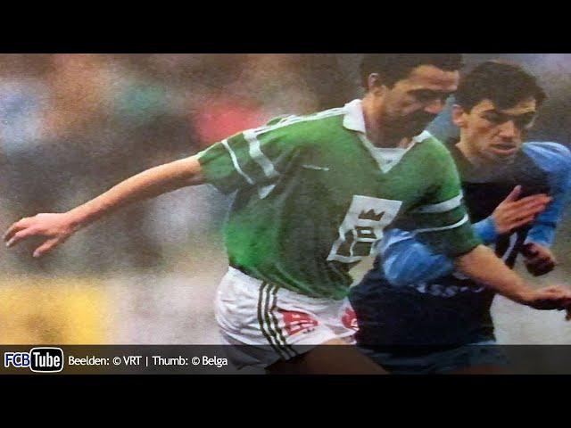 1988-1989 - Jupiler Pro League - 18. Racing Mechelen - Club Brugge 1-1