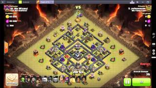 Clash of Clans 3 star Stoned GoHo Diamond Tesla Moat 4 Quakes