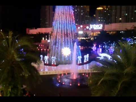 Natal di central park Jakarta 2013