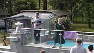 Eröffnung des neuen Pools am Schwimmbad Camping Mössler in Döbriach am Millstätter See