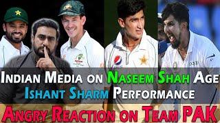 Angry Reaction on Pakistan Team Poor Performance | Indian Media on Naseem Shah | Ishant Sharma
