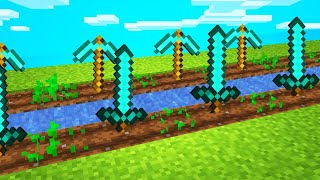 MINECRAFT, but you can GROW items...