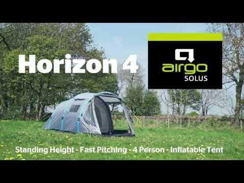 Airgo Solus Horizon 4 Air Tent