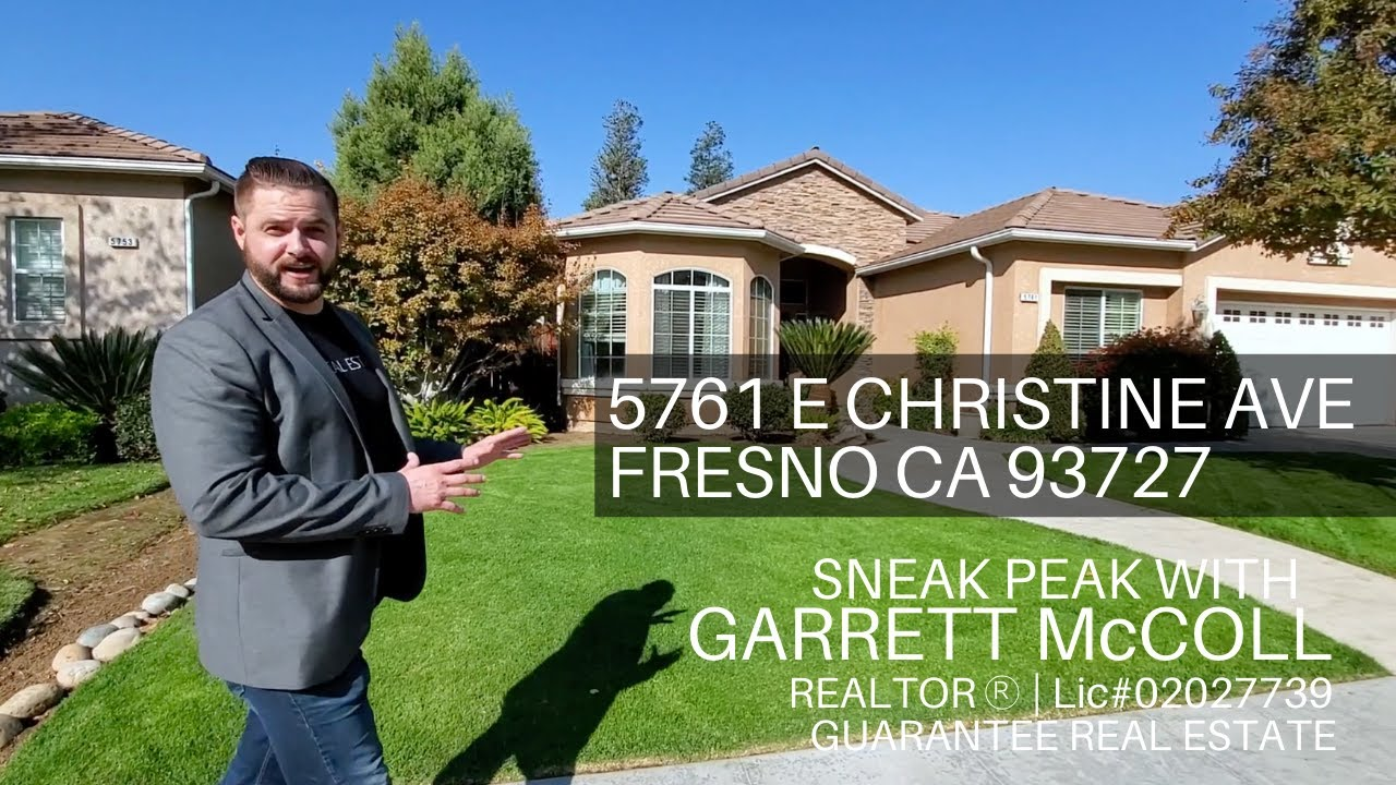 5761 E Christine Ave: A Sneak Peak At One Of The Newest Homes To Hit The Fresno Market.