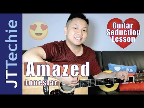 How to Play Amazed by Lonestar on Acoustic Guitar for Beginners | Guitar Seduction