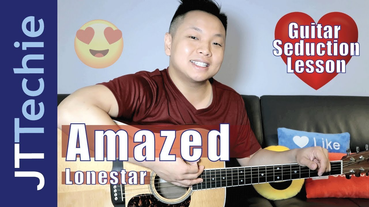 How To Play Amazed By Lonestar On Acoustic Guitar For Beginners