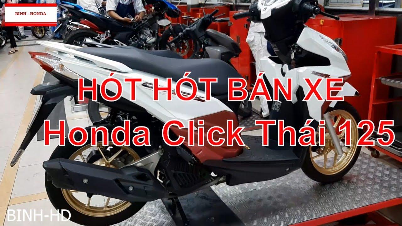 Honda Click Thái 125cc – Bán xe Click Thái 125 mới đến 95%