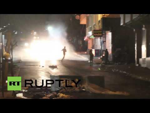 Turkey: Istanbul burns as police clash with PKK